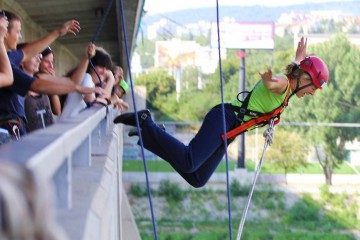 Best ADRENALIN in Bratislava – Bridge jump