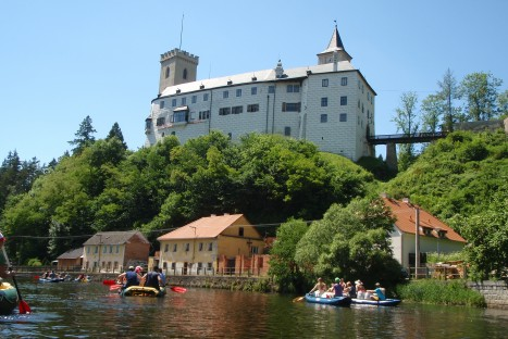 Splav Vltavy