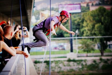 Lafranconi JUMP! – kyvadlový skok z mostu