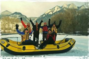 Mega lyžovačka + zimný splav v Pieninach